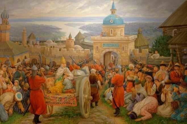 Весна в галерее «Хазинэ» начнется с выставок Фирината Халикова и Анатолия Егорова