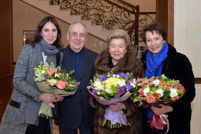 Наина Ельцина: Шаймиев был авторитетом для Ельцина