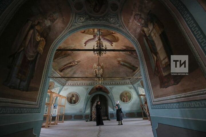 Минкульт РТ ограничит посещение Успенского собора в Свияжске после реставрации