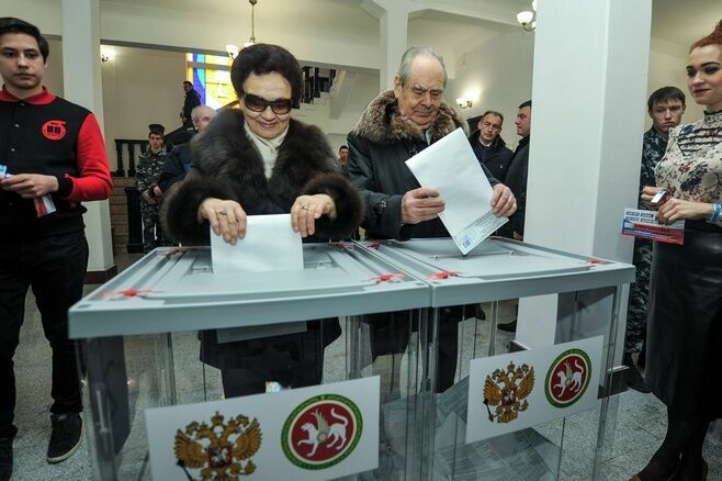 Минтимер Шаймиев: Активным участием на выборах мы должны показать единство страны