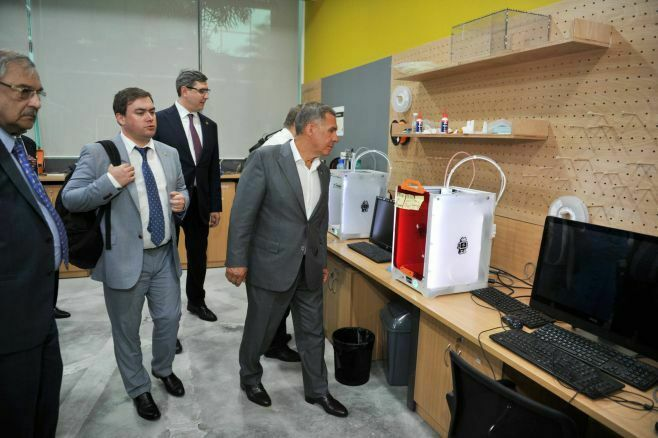 Рустам Минниханов посетил ИТ-город HITEC City в Индии