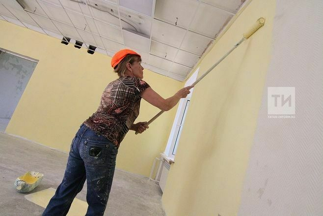 В Татарстане ведется капремонт 23 школ и 78 детсадов