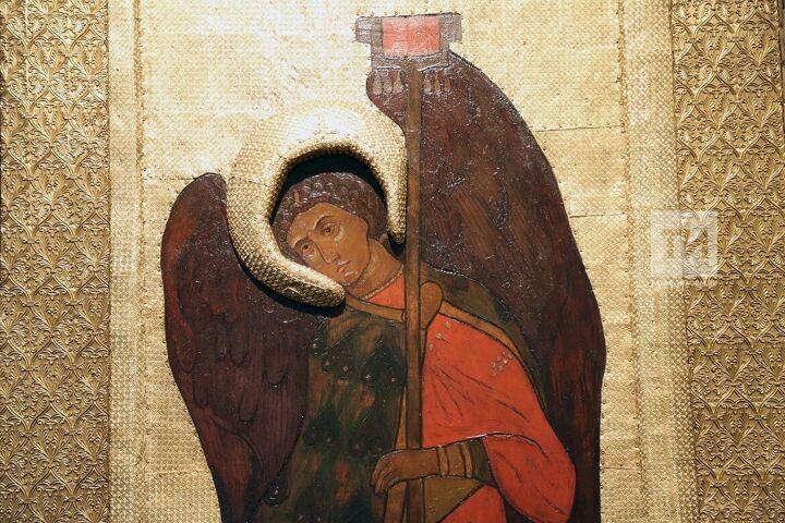 Музей Свияжска первым экспонировал отреставрированную икону Рериха из храма в Перми