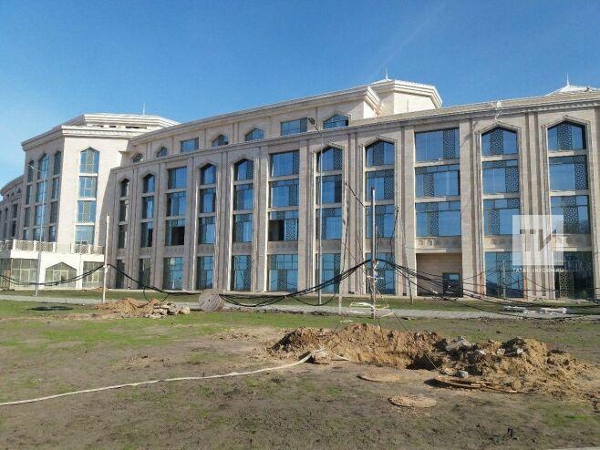 Готовность гостиницы «Кул Гали» вБолгаре составила более 90процентов