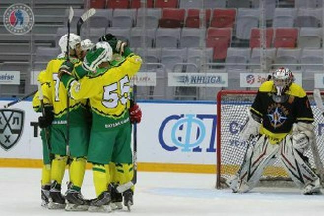Хоккеисты «Тимерхана» из Богатых Сабов вышли в финал Лиги Надежды НХЛ