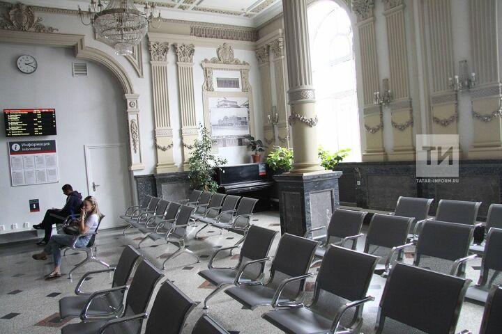 На железнодорожном вокзале Казань-1 к ЧМ-2018 открылся новый зал ожидания