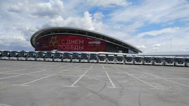 В Татарстане к ЧМ-2018 закуплено 20 туристических автобусов