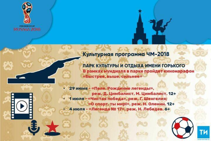 Культурная программа ЧМ-2018: Парк культуры иотдыха имени Горького