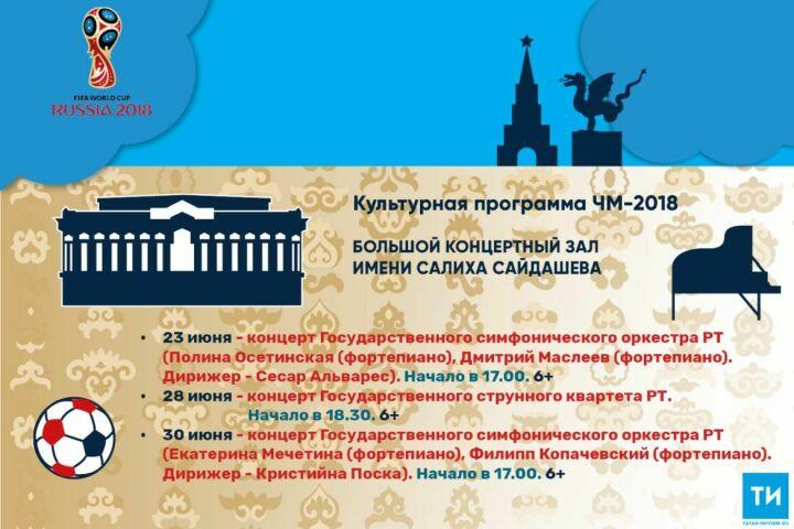 Культурная программа ЧМ-2018: Большой концертный зал имени Салиха Сайдашева