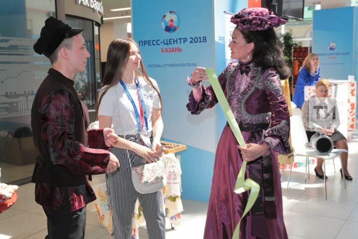 Сотрудники музея-заповедника Чистополя рассказали гостям ЧМ-2018 в Казани о купеческих традициях