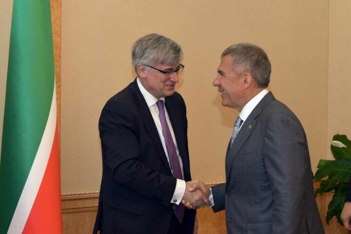 Рустам Минниханов и Игнасио Ибаньес обсудили сотрудничество между Татарстаном и Испанией