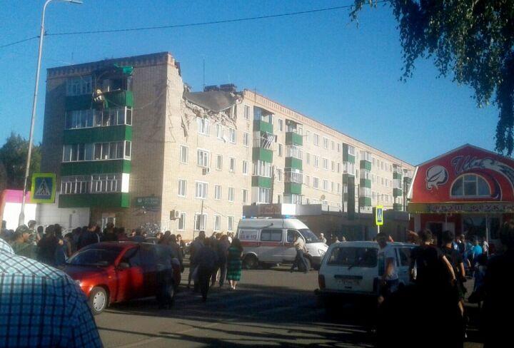 В Заинске от хлопка газа разнесло квартиру в пятиэтажке
