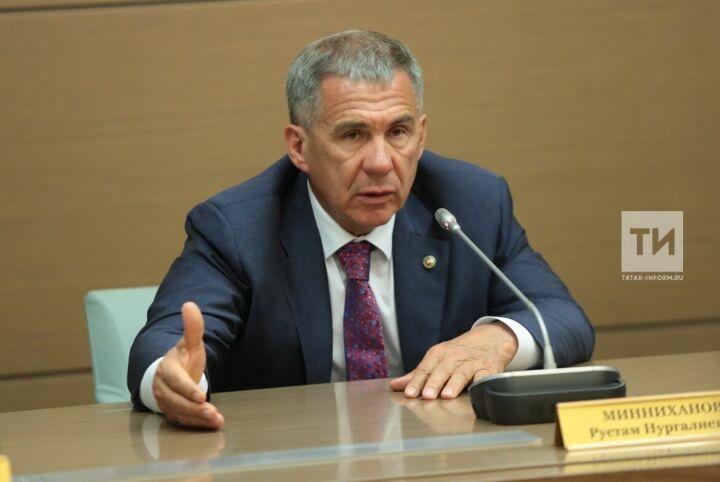 Президент Татарстана поручил взять под особый контроль ситуацию после взрыва газа в Заинске