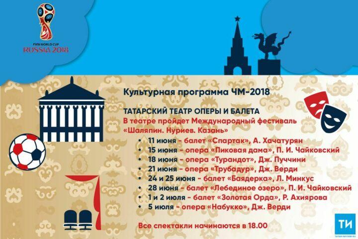 Культурная программа ЧМ-2018: Татарский театр оперы ибалета