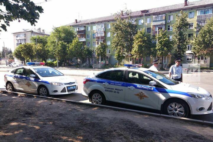 За полтора часа «Тоннеля» в Казани сотрудники ГИБДД поймали пять нарушителей ПДД