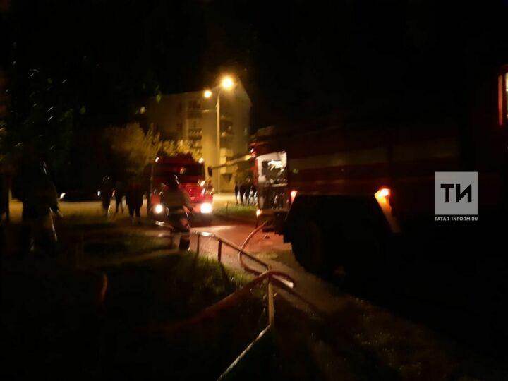 На пожаре в Лениногорске пострадала 65-летняя женщина