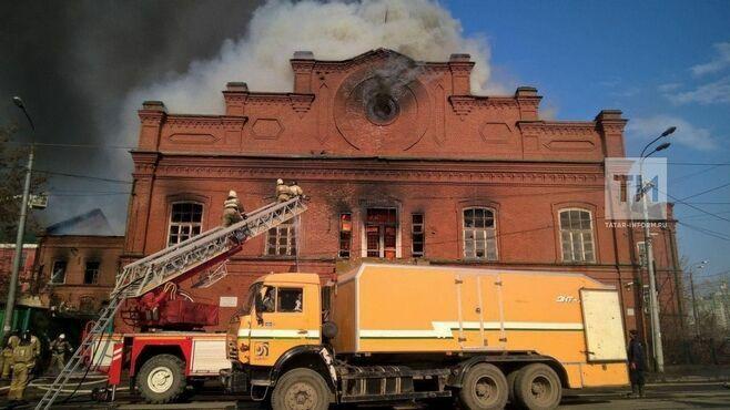 В Казани уменьшилось количество пожаров