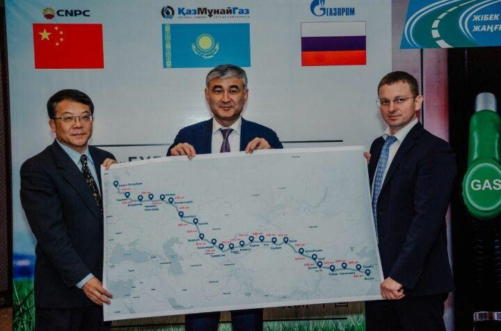 Команды челнинских предприятий участвуют в международном автопробеге газомоторной техники