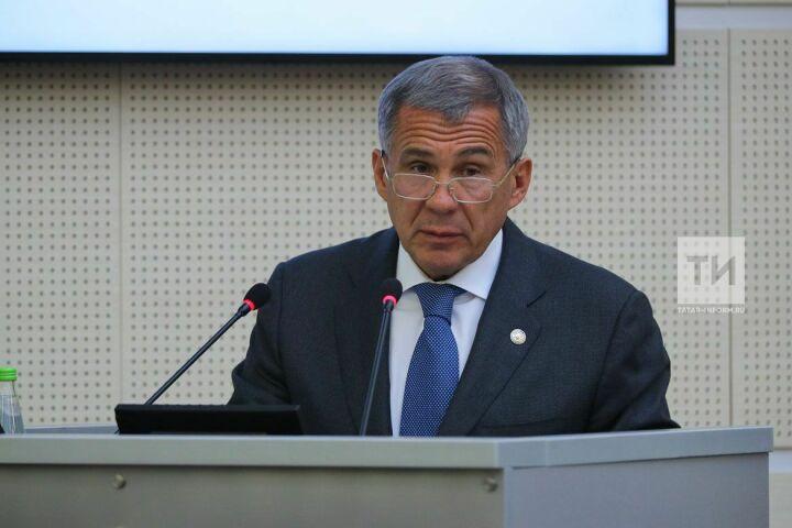 Минниханов: взаимный товарооборот Татарстана и Казахстана может составить 1 млрд долларов