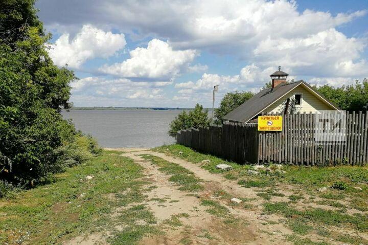 Возле острова-града Свияжск утонул пьяный пловец