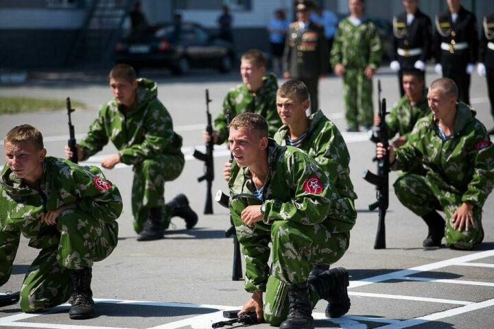 Воспитанники Раифского спецучилища одержали победу на федеральных военно-полевых сборах ДОСААФ