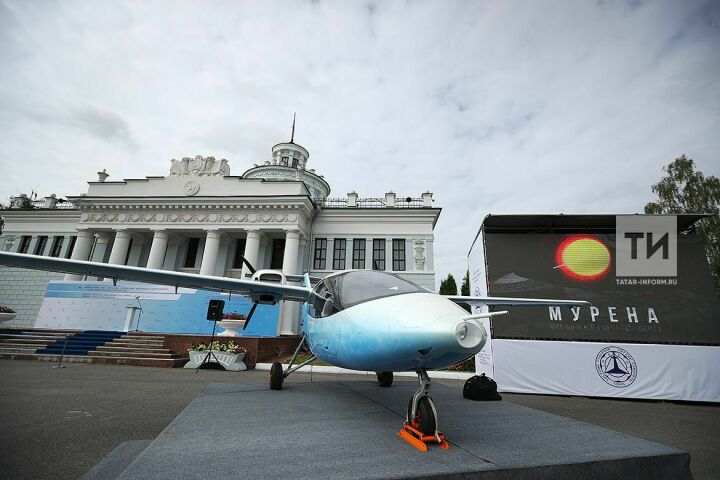 Компания «Мвен» показала на «АКТО-2018» самолет «Мурена» стоимостью в два джипа