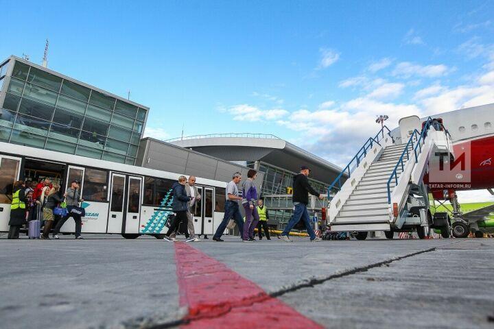 В аэропорту Махачкалы рассматривают возможность внедрения казанской системы «Мобильный перрон»