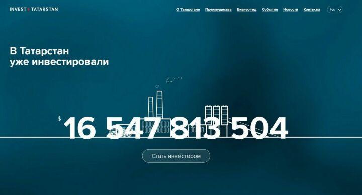 Инвесторы из140 стран мира посетили Инвестиционный портал Татарстана