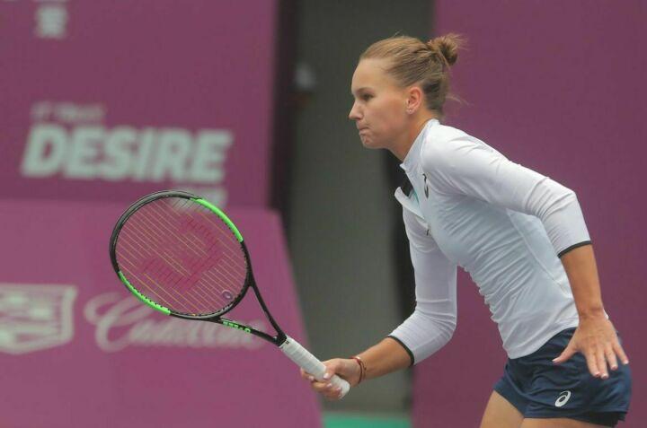Татарстанская теннисистка Вероника Кудерметова вышла в полуфинал престижного турнира в Китае