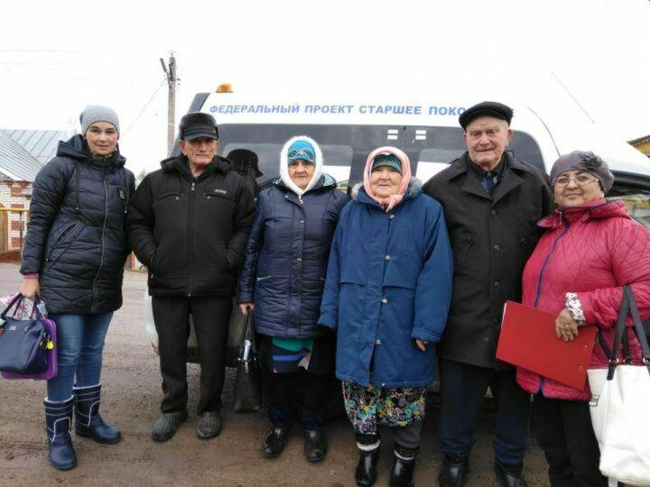 Более 350 пожилых тетюшан прошли диспансеризацию в рамках проекта «Старшее поколение»
