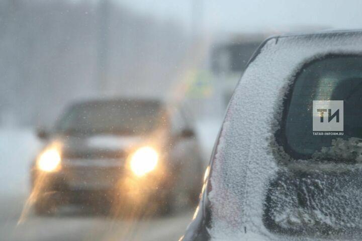 Синоптики Татарстана предупреждают о тумане и слабом гололеде