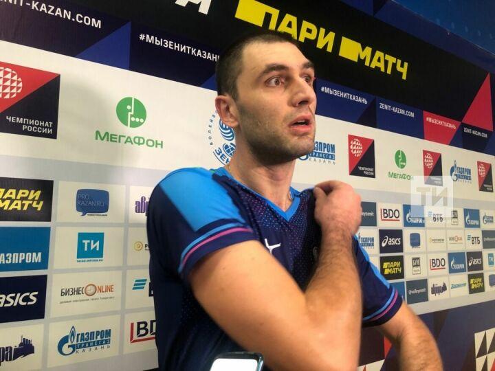 Волейболист «Зенита»: Мы даже на тренировках играем лучше, чем сегодня