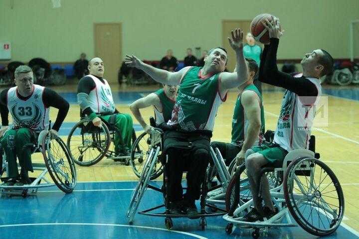 Девять команд по баскетболу на колясках со всей России поборются за звание лучших в РТ