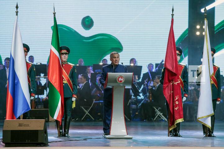 Минниханов: «Татарстан – предмет гордости и уверенности в завтрашнем дне»