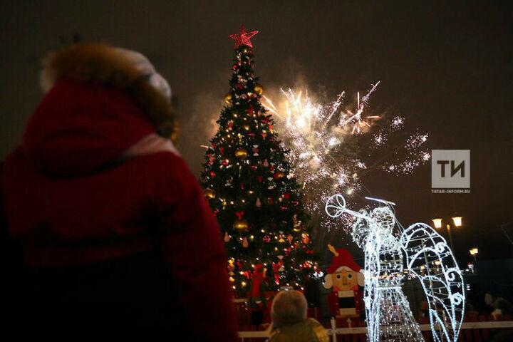Город превращается внастоящую сказку: что блогеры думают о новогодней Казани