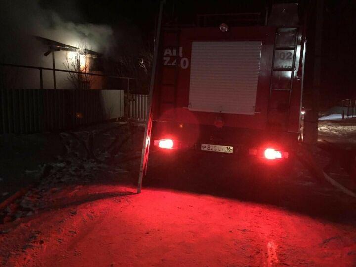 Из-за непотушенной сигареты в Аксубаевском районе сгорел дом, его хозяин погиб в огне