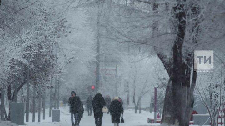 В Татарстане ожидается холодная и снежная погода