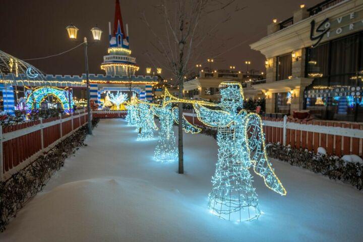 Хаски-парк и новогодняя ярмарка откроются в новом сезоне на Кремлевской набережной