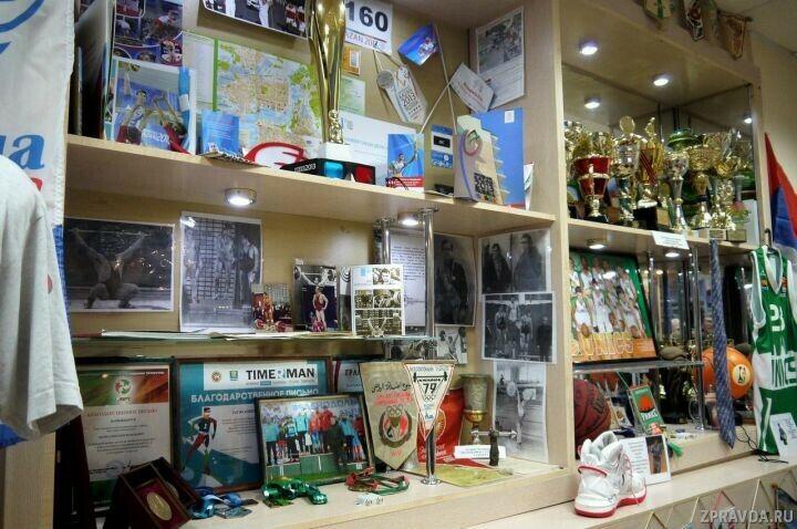Музей спорта Зеленодольска, в котором хранится 3 тыс. экспонатов, отметил юбилей