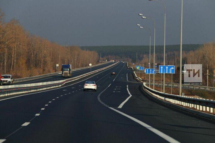 На 11 дорогах Татарстана в 2019 году увеличат разрешенную скорость