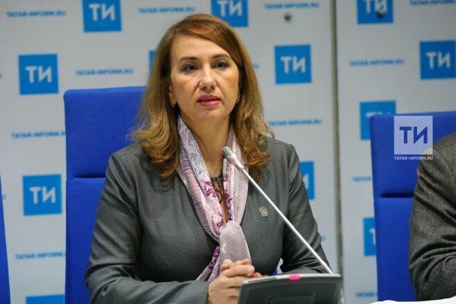 Ирада Аюпова представила концепцию развития культуры в Татарстане