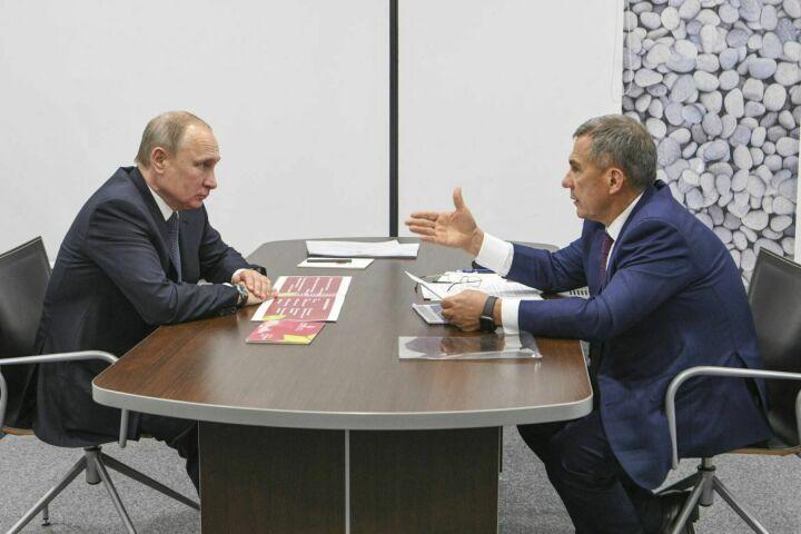 Дмитрий Песков назвал отношения Путина и Минниханова очень доверительными