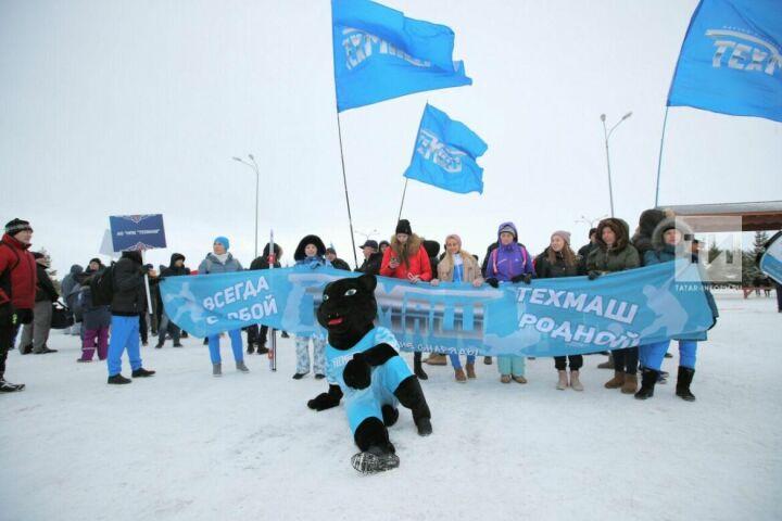 Летающие валенки искользящие польду чайники: вКазани стартовали Зимние корпоративные игры