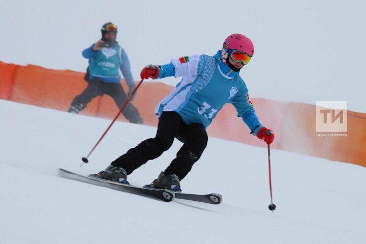 Сноубордисты против лыжников: Казань приняла Фестиваль горнолыжного спорта на Кубок Президента РТ