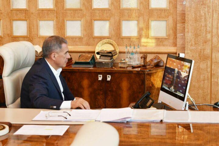 Рустам Минниханов принял участие в заседании Бюро Высшего совета партии «Единая Россия»