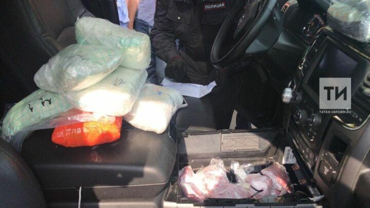 Задержание наркокартеля под Казанью с центнером гашиша стало самым крупным в РФ в 2018 году