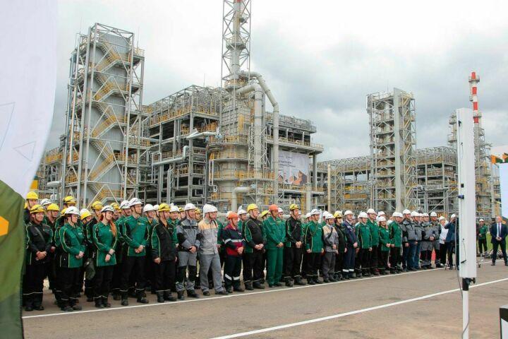 Запущенное Путиным производство бензинов на «ТАНЕКО» ускорило темпы промпроизводства в РФ