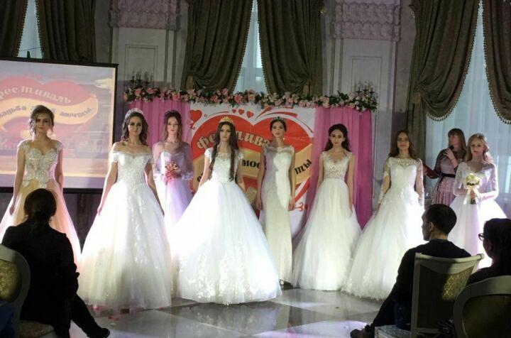 Свадебный фестиваль собрал в Лениногорске дизайнеров, декораторов, кондитеров и невест