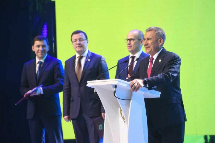 Президент РТ прибыл в Уфу на празднование 100-летия Башкортостана