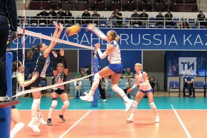 Победа в день рождения: волейболистки «Динамо-Казани» прошли в плей-офф с третьего места